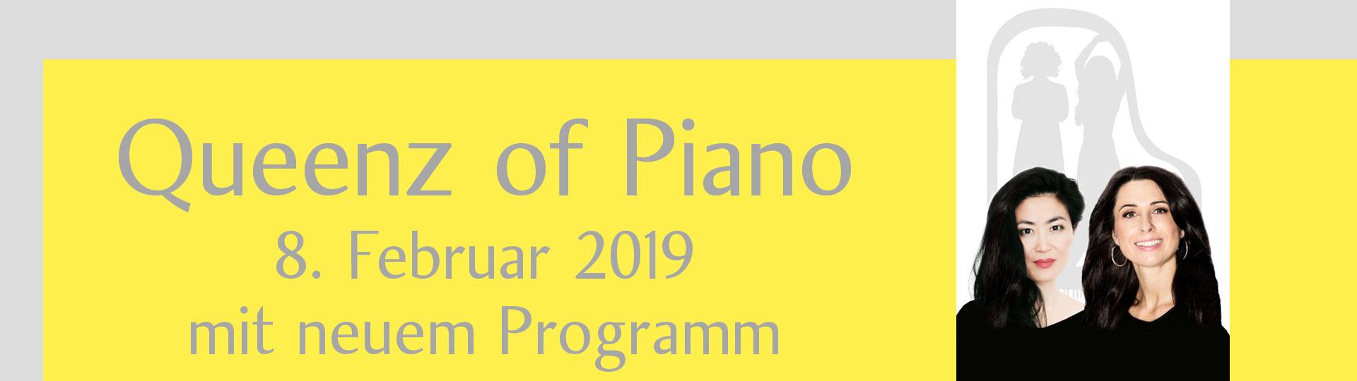 """Queenz of Piano – """"mit ihrem neuen Programm"""""""