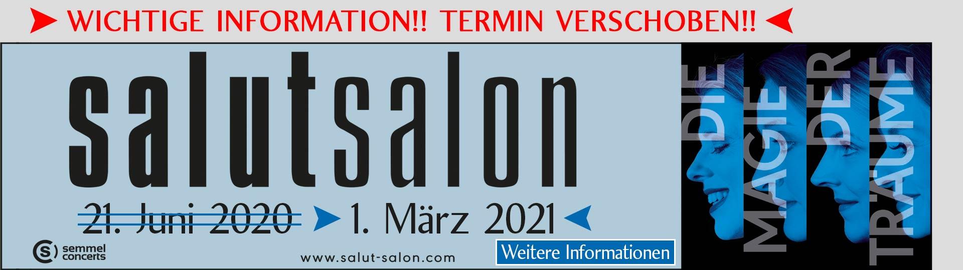 """Salut Salon – """"Die Magie der Träume"""""""